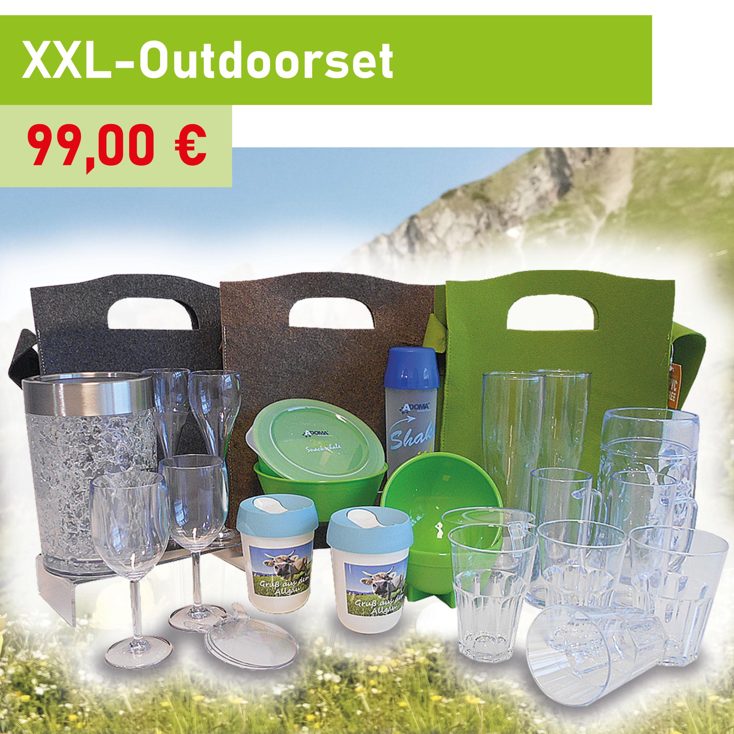 XXL-Outdoorset